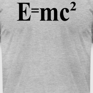 Einsteins Theory of Special Relativity - Men's T-Shirt by American Apparel