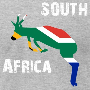 Nation-Design South Africa Springbok - Men's T-Shirt by American Apparel