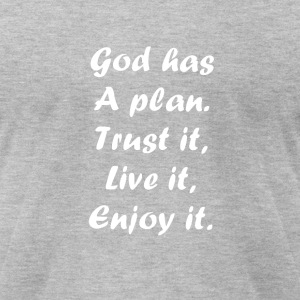 believe in god - Men's T-Shirt by American Apparel