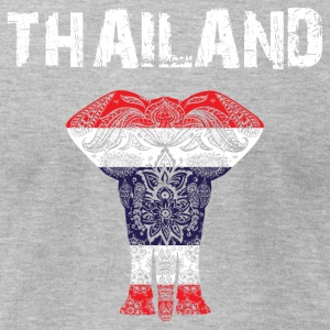 Nation-Design Thailand Elephant - Men's T-Shirt by American Apparel