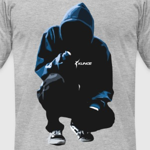 Kunce Clothing Original Hoodie Trace Logo - Men's T-Shirt by American Apparel