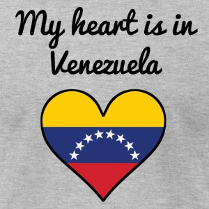 My Heart Is In Venezuela - Men's T-Shirt by American Apparel