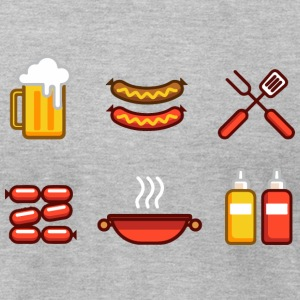 Beer Sausage Life - Men's T-Shirt by American Apparel