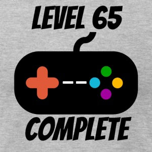 Level 65 Complete 65th Birthday - Men's T-Shirt by American Apparel