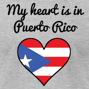 My Heart Is In Puerto Rico - Men's T-Shirt by American Apparel