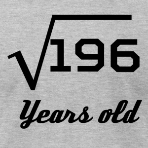 Square Root Of 196 14 Years Old - Men's T-Shirt by American Apparel