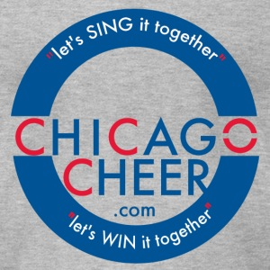 ChicagoCheer.Com - Men's T-Shirt by American Apparel