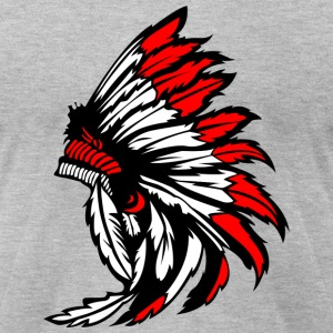 native american - Men's T-Shirt by American Apparel