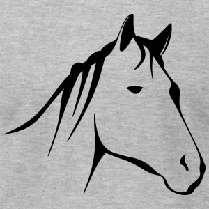 Horse - Men's T-Shirt by American Apparel