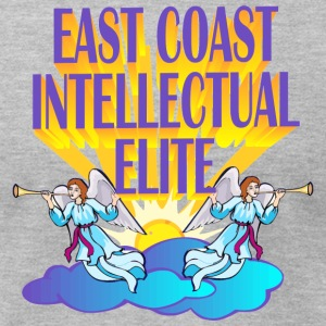 EAST COAST INTELLECTUAL ELITE - Men's T-Shirt by American Apparel