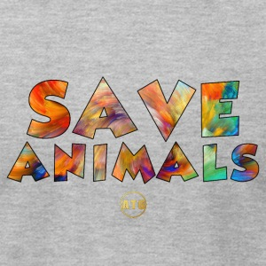 Save Animals by ATG - Men's T-Shirt by American Apparel