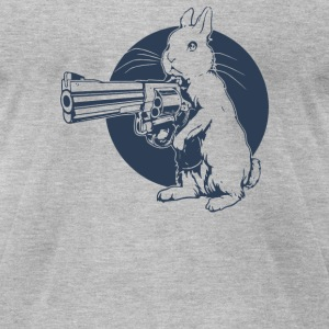 Hare Tringger - Men's T-Shirt by American Apparel