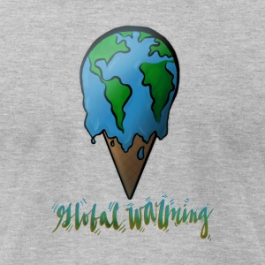 Global Warming - Men's T-Shirt by American Apparel