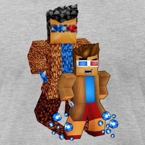 8bit Doctor Shadow - Men's T-Shirt by American Apparel