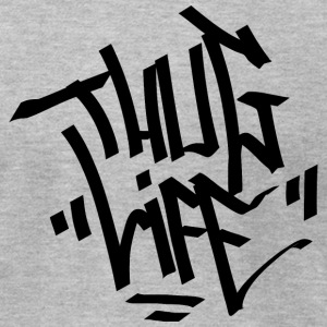 Thug Life - Men's T-Shirt by American Apparel
