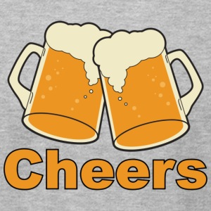 Cheers Beer - Men's T-Shirt by American Apparel