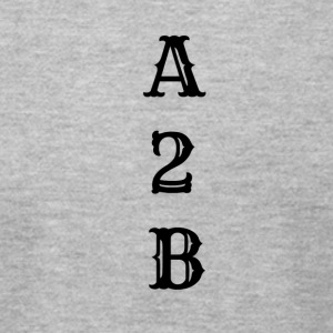 A2B - Men's T-Shirt by American Apparel