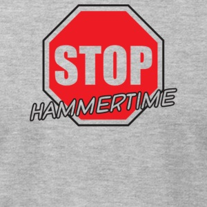 Stop Hammertime - Men's T-Shirt by American Apparel