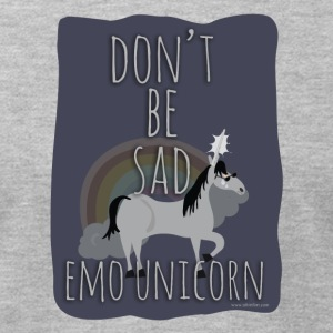 The Sad Emo Unicorn - Men's T-Shirt by American Apparel
