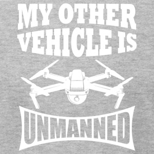 My Other Vehicle Is Unmanned - Drone Apparel - Men's T-Shirt by American Apparel