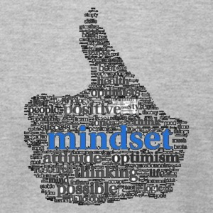 Mindset brain storm! - Men's T-Shirt by American Apparel