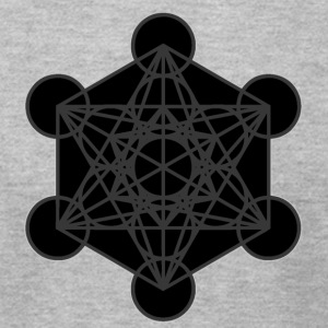 Metatron's Cube - Men's T-Shirt by American Apparel