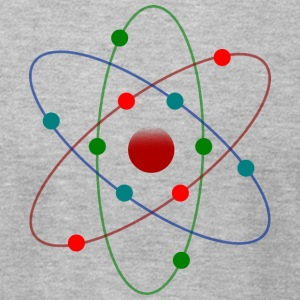 Atom Color - Men's T-Shirt by American Apparel