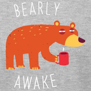 Bearly Awake - Men's T-Shirt by American Apparel