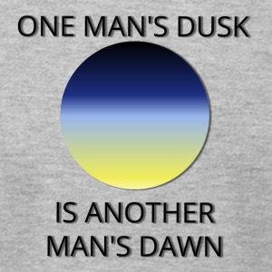 Dusk and Dawn - Men's T-Shirt by American Apparel