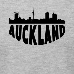Auckland New Zealand Cityscape Skyline - Men's T-Shirt by American Apparel