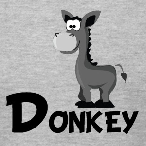 Cartoon Donkey - Men's T-Shirt by American Apparel