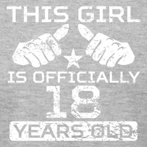 This Girl Is Officially 18 Years Old - Men's T-Shirt by American Apparel