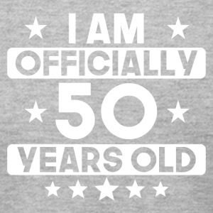 I Am Officially 50 Years Old 50th Birthday - Men's T-Shirt by American Apparel
