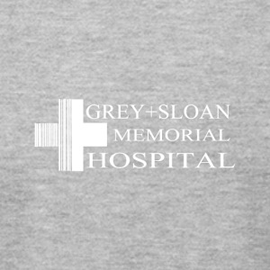 Grey Sloan Memorial Hospital - Men's T-Shirt by American Apparel