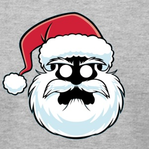 Santa Mad - Men's T-Shirt by American Apparel