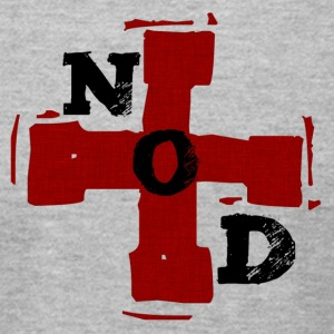 NOD_black_letters_trans - Men's T-Shirt by American Apparel