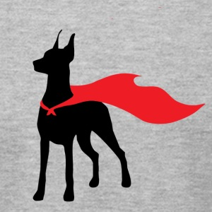 Super Doberman - Men's T-Shirt by American Apparel