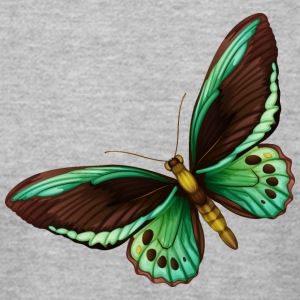 butterfly insect wildlife vector cartoon image art - Men's T-Shirt by American Apparel