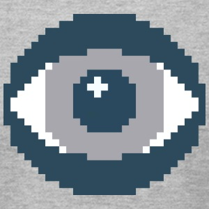 The Eye - Men's T-Shirt by American Apparel