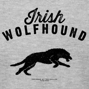 Irish Wolfhound - Men's T-Shirt by American Apparel