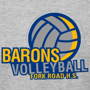 BARONS VOLLEYBALL FORK ROAD H S - Men's T-Shirt by American Apparel