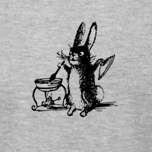 The Bunny Chef - Men's T-Shirt by American Apparel