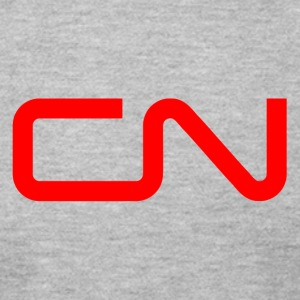 canadian national cn railway logo - Men's T-Shirt by American Apparel
