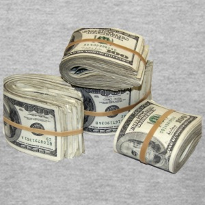 Money Stack - Men's T-Shirt by American Apparel