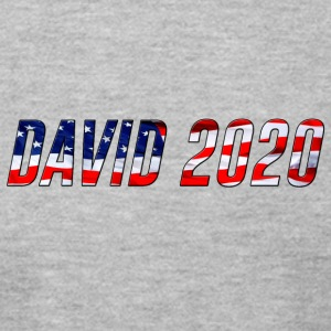 DAVID 2020 USA - Men's T-Shirt by American Apparel