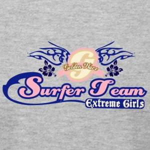 SURFER TEAM EXTREME GIRL - Men's T-Shirt by American Apparel