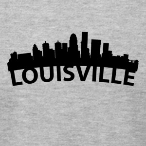 Arc Skyline Of Louisville KY - Men's T-Shirt by American Apparel