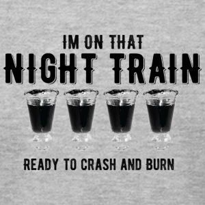 Nighttrain - Men's T-Shirt by American Apparel