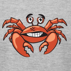 Funny crab comic style - Men's T-Shirt by American Apparel