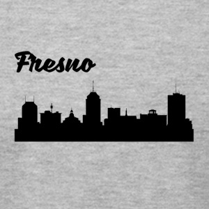 Fresno CA Skyline - Men's T-Shirt by American Apparel